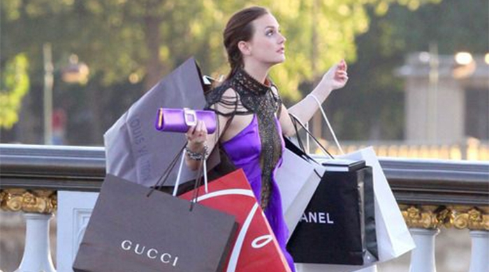 Well, this is awkward: luxury shoppers are the least charitable