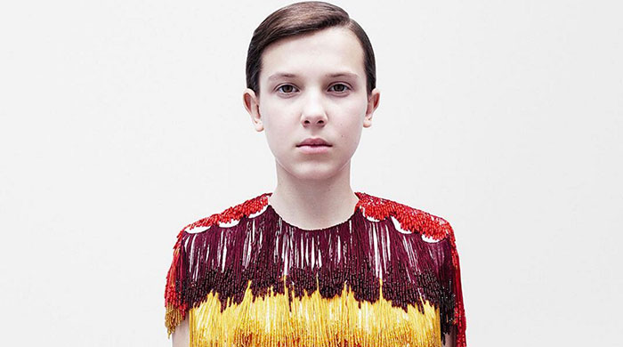 Millie Bobby Brown aka ELEVEN is the new face of Calvin Klein