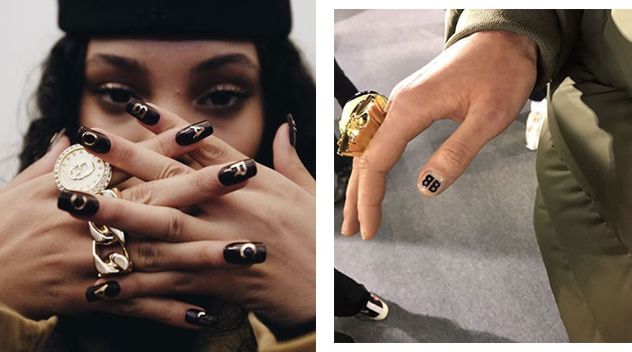 Lacquer love: Why logo designer nails are back