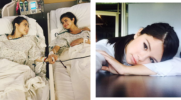 Selena Gomez's best friend gave her a kidney