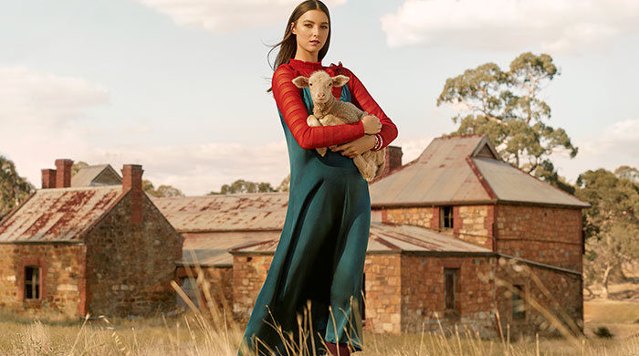 Girl on the rise: Aussie model Stephanie Field