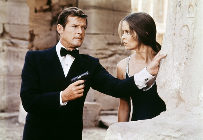 Sir Roger Moore's most iconic Bond fashion moments