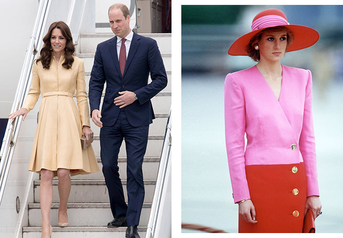 The most stylish royal moments from Di, Kate and Meghan