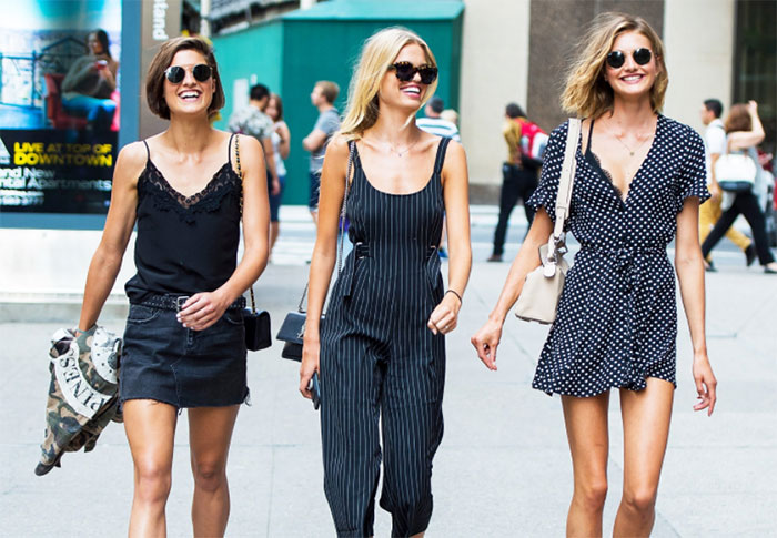 Victoria's Secret casting call: street style
