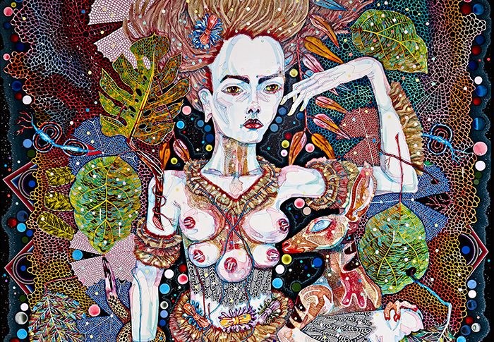 The Highway is a Disco: Del Kathryn Barton's largest exhibition ever