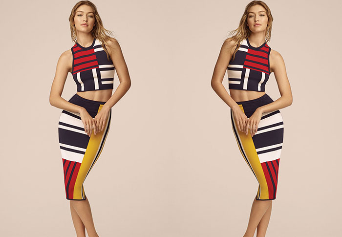Every look from Gigi Hadid's second collection with Tommy Hilfiger
